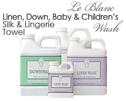 Le Blanc Linen, Down,Baby, Children's, Silk & Lingerie, Towel Wash