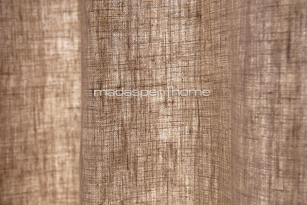 Natural Linen Curtains Linen tab top natural - fully